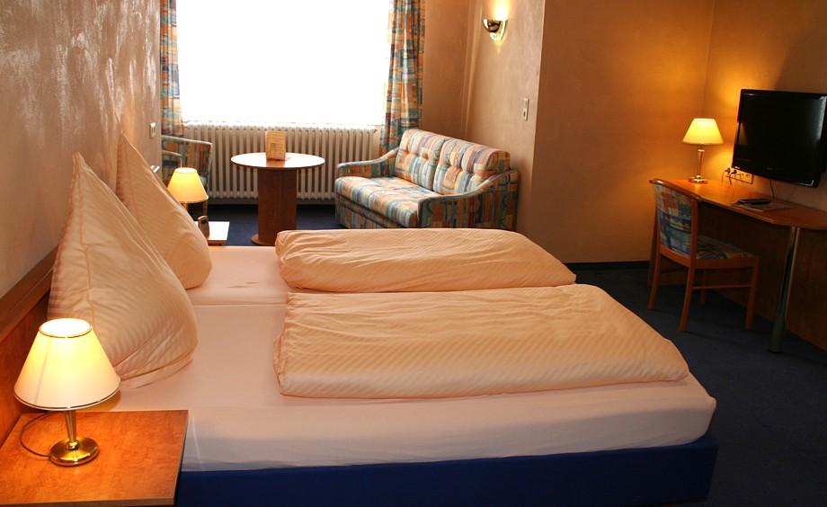 Ansicht Doppelzimmer Hotel Schönsitz, Königswinter