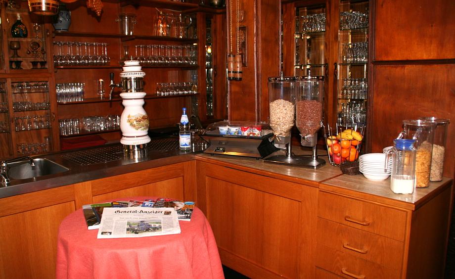 Frühstücksbereich, Garni Hotel Schönsitz